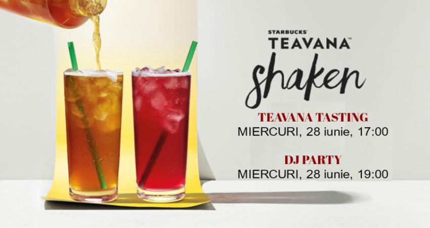 Starbucks te invita sa descoperi noile bauturi TEAVANA