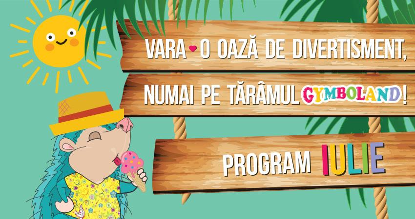 Vara – o oaza de divertisment numai pe taramul Gymboland!