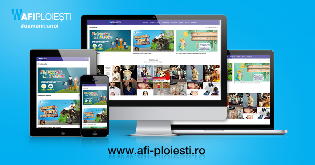 Noul site AFI Ploiesti – o experienta interactiva pentru clienti
