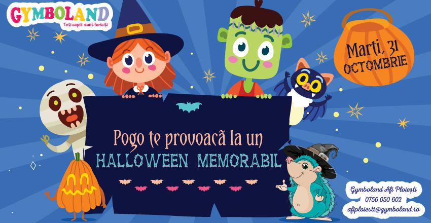 Pogo te provoaca la un Halloween memorabil
