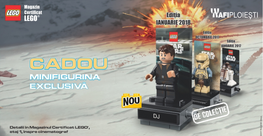 Campania Star Wars: Cadou Figurina Exclusiva!