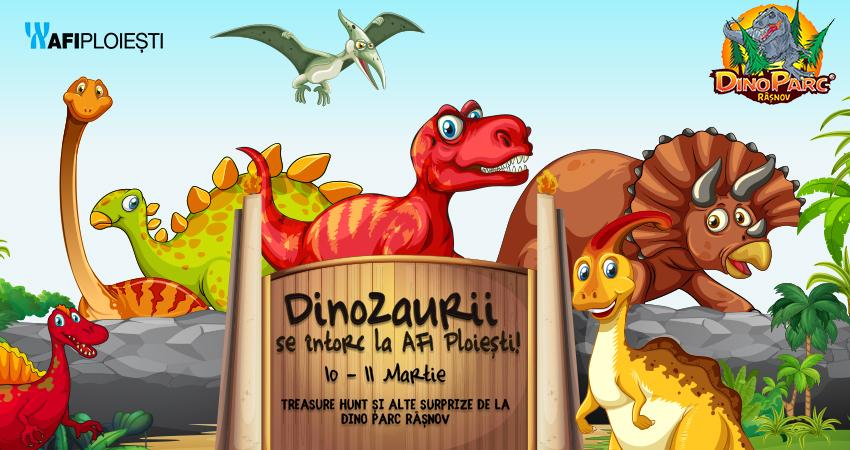 Dinozaurii se intorc la AFI Ploiesti!