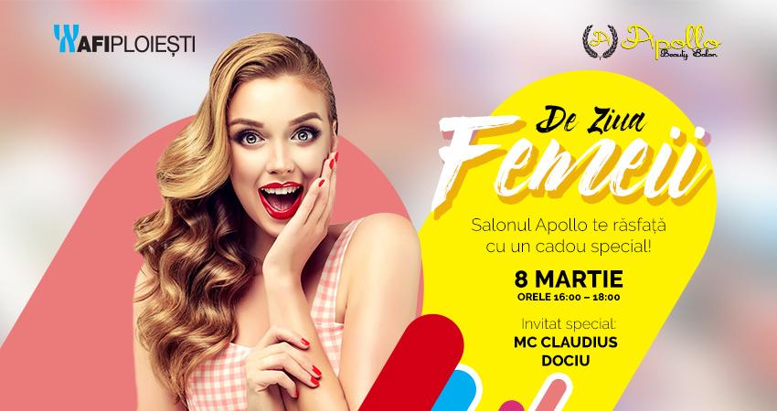 Apollo Beauty Salon si AFI Ploiesti surprind femeile cu un cadou special de 8 martie!