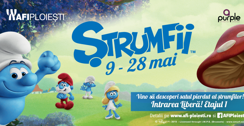 STRUMFII – Descopera satul pierdut al strumfilor!