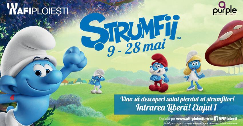 Strumfii – descopera satul pierdut al strumfilor