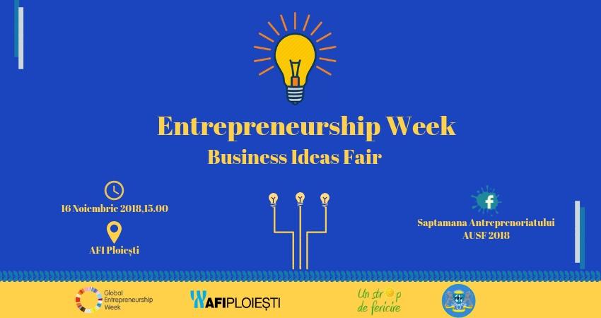 Concursul de Idei de Antreprenoriat