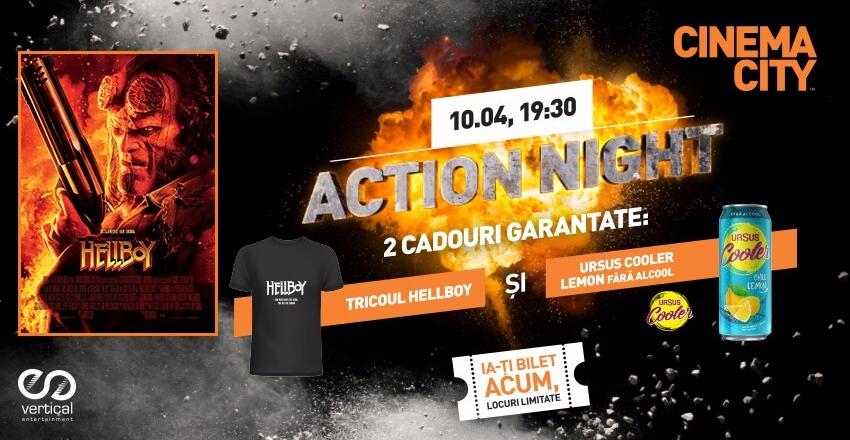 Action Night – Hellboy