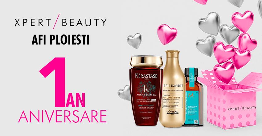 Aniversam 1 An de rasfat in magazinul nostru Xpert Beauty AFI Ploiesti!