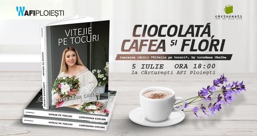 Ciocolata, cafea si flori
