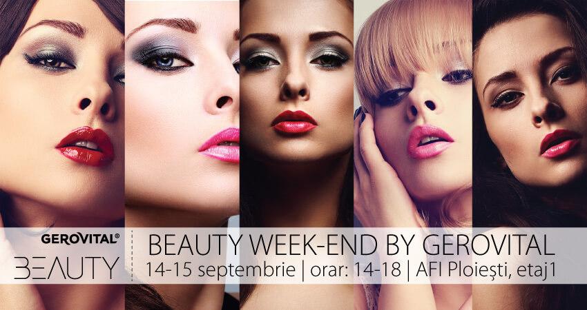 Beauty week-end by Gerovital