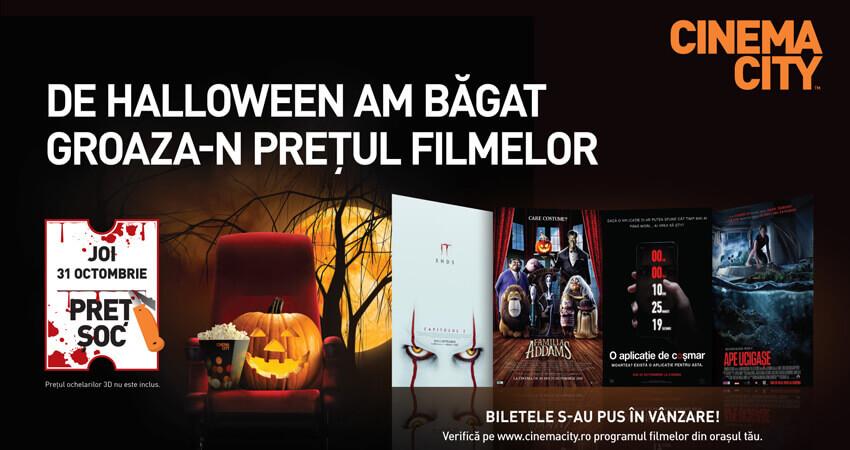 De Halloween te asteptam la Cinema City!