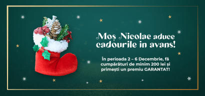 Mos Nicolae aduce cadourile in avans!