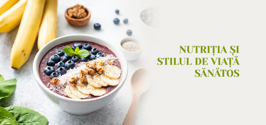 Nutritia si stilul de viata sanatos